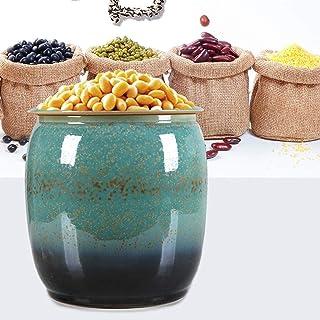 Boite Alimentaire Conteneurs européen de Stockage des Aliments Vintage avec Couvercles Grand Airtight café Conteneurs jarr...