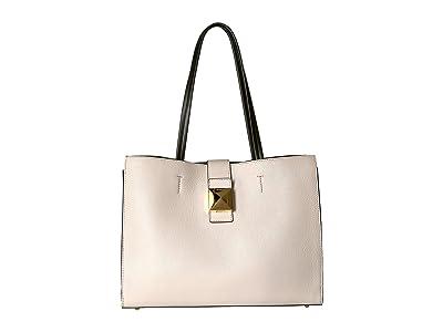 Furla Diva Large East/West Tote (Lino/Nocciola) Tote Handbags