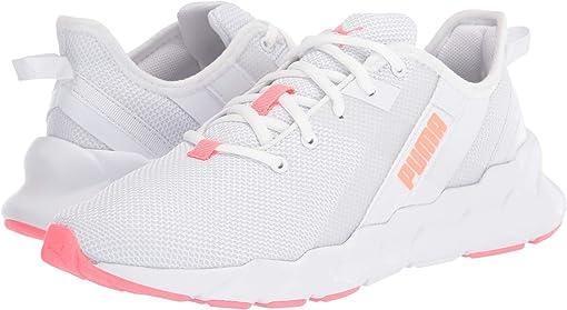 Puma White/Ignite Pink/Fizzy Orange