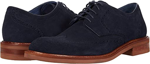 Navy English Suede