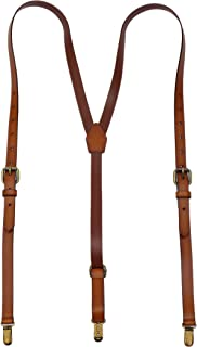 Best real leather suspenders Reviews