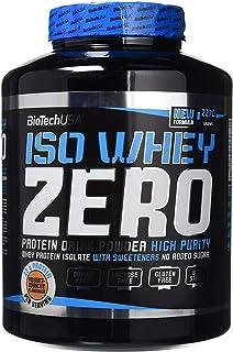 Biotech Isowhey Zero Lactose Free, Proteínas con sabor de Yogurt y Albaricoque, 2270 gr