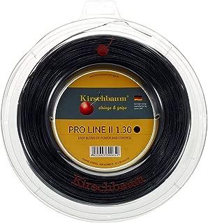Kirschbaum Reel Pro Line II Tennis String, 1.30mm/16-Gauge, Black