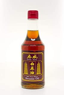 Chee Seng 100% Pure White Sesame Oil, 320ml