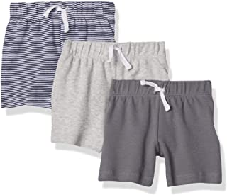 Baby Boys' Cotton Pull-On Shorts