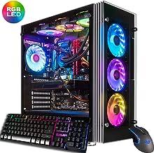 $2899 » CUK Stratos Gamer PC (Liquid Cooled Intel Core i9-9900K, NVIDIA GeForce RTX 2080 Ti, 32GB RAM, 1TB NVMe SSD + 2TB, 750W Gold PSU, Z390 Motherboard, Windows 10) Best Tower Desktop Computer for Gamers