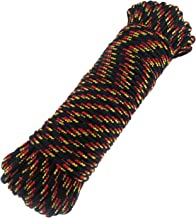 Diamond Braid Nylon Rope,3/16
