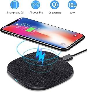 CHOETECH 15W Wireless Charger Kabelloses Ladeger/ät mit QC 3.0 Adapter 7.5W Wireless Ladestation Kompatibel mit iPhone 11//Pro Max//XR//XS//X,10W Fast Ladeger/ät f/ür Galaxy S10//S10+//S9//S8,15W f/ür LG Sony