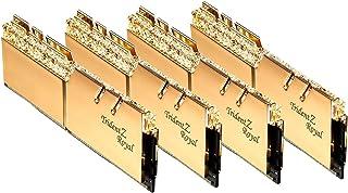 64 جيجابايت G.Skill DDR4 Trident Z Royal Gold 3200Mhz PC4-25600 CL14 1.35 فولت مجموعة قنوات رباعية (4 × 16 جيجابايت)