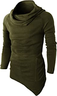 Mens Casual Slim Fit Pullover Knitted Turtleneck Sweaters Long Sleeve Thermal