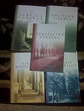 SPIRITUAL DISCIPLINES BIBLE STUDIES 5 BOOKS (WORSHIP CELEBRATION, SIMPLICITY FASTING, STUDY MEDITATION, SERVICE SECRECY, SOLITUDE SILENCE)