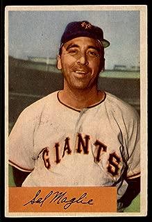 1954 Bowman #105 Sal Maglie NY Giants VG Very Good MLB Baseball