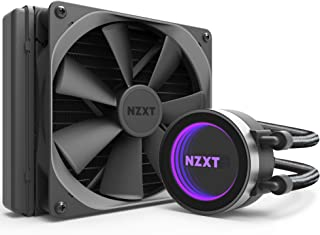 NZXT Kraken X42 140mm - All-In-One RGB CPU Liquid Cooler - CAM-Powered - Infinity Mirror Design - Performance Engineered Pump - Reinforced Extended Tubing - Aer P140mm Radiator Fan (Included)