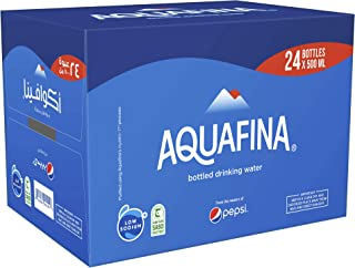 Aquafina Mineral Water, 24 X 500 ml - Pack of 1