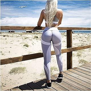 Genius-route-store Mesh Pattern Print Leggings Fitness Leggings for Women Sporting Workout Leggins