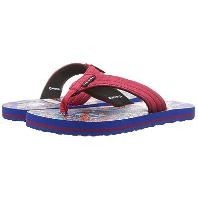 Vans Kids Marvel(r) T Street Jr. (Little Kid/Big Kid) ((Marvel) Spiderman/Red/Blue) Boys Shoes