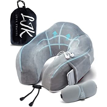 Ergonomad Travel Pillow & Comfort Kit