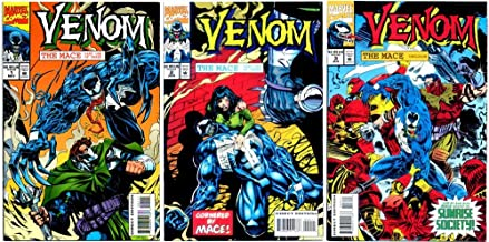 Venom - The Mace #1-3 Complete Limited Series (Marvel Comics 1994 - 3 Comics)