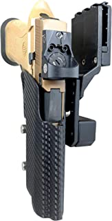 Black Scorpion Outdoor Gear Professional Competition Holster OWB Kydex fits P320 X5; IPSC, USPSA, 3-Gun Approved, Adjustable in All Angles and Retention, Completely Legal in USPSA Production Division