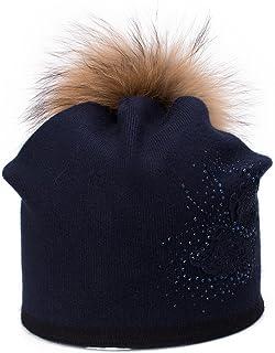 Lawliet Womens Cashmere Wool Beanie Skull Ski Cap Winter Hat Butterfly T301