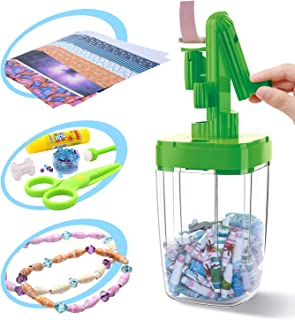CUTE STONE Jewelry Making Supplies Kit Includes Paper Bead Roller, Assorted Beads,Jewelry Tools, Jewelry Wires for Necklace, Bracelet, Earrings Making,DIY Accessories Arts and Crafts Supplies