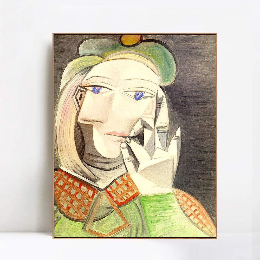 INVIN ART Framed 正規品送料無料 Canvas Giclee Print 1938 Buste femme Ma Art de 高品質