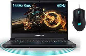 "2019 Acer Predator Helios 15.6"" FHD IPS Display Gaming Laptop W/ RGB Mouse 