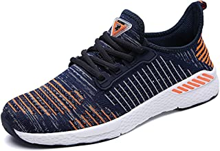 Unisex Comfortable Gym Fitness Breathable Mesh Sneakers Leisure Shoes Lightweight Sports Shoes Running Shoes Fit Man Woman Young and Girl 36-48