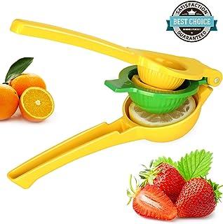 HEYFIT Citrus Juicer Hand Lemon Juicer Manual Lemon Lime Squeezer Metal Citrus Press Orange Juice Extractor