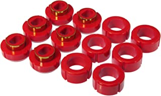 Prothane 7-108 Red Body and Standard Cab Mount Bushing Kit - 12 Piece