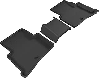 3D MAXpider Second Row Custom Fit All-Weather Floor Mat for Select Kia Sportage Model