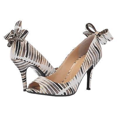 J. Renee Ellasee (Cream/Black/Gold) High Heels