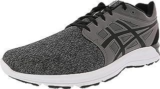 [アシックス] Men's Gel-Torrance Carbon/Black Ankle-High Fabric Running Shoe - 12M