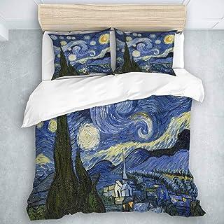 Copripiumino Van Gogh.Amazon It Van Gogh Notte Stellata Piumini E Copripiumini