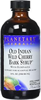 PLANETARY HERBALS Old Indian Wild Cherry Bark Syrup, 8 FZ