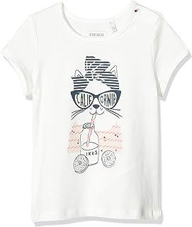 IKKS Tee-Shirt Chat Bébé Fille