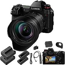 Panasonic Lumix DC-S1R Mirrorless Digital Camera with 24-105mm Lens - Panasonic Accessory Bundle - Extra Panasonic DMW-BLJ...