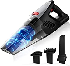Rends Hand-Held Vacuum Cleaner, Portable Cordless Vacuum Cleaner with Powerful Suction of 8000PA, Dry Vacuum Cleaner with ...