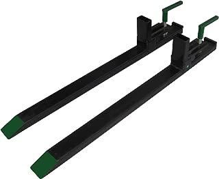 Medium Duty Pallet Forks 2400 Lbs Lift Capacity Lifetime Warranty, Won't Harm Bucket EZ On