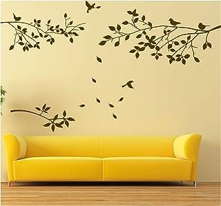 comprar comparacion BDECOLL Decalque de Pared de Rama de árbol con Pegatinas de Pared de pájaros Adhesivo de Vinilo de Pared de salón de viver...