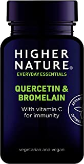 Higher Nature Quercetin & Bromelain . 60 pestañas