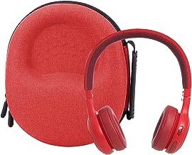 Hard Storage Case for JBL E45BT/E55BT On-Ear Wireless Headphones by Aenllosi (red)
