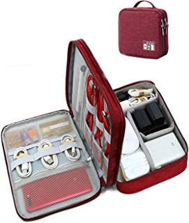 Seagull Flight Of Fashion 3 Layer Gadget Organizer Case , Electronic Accessories Organizer Bag for Cables , Charger , Hard...
