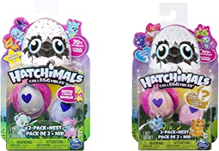 Hatchimals CollEGGtibles 2-Pack & Nest Bundle Season 1 & 2 (Dispatched from UK)