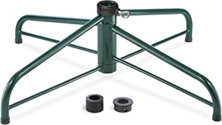 National Tree 32 Inch Folding Stand for 9 10-Feet Trees Fits 1.25 Inch or 2 Inch Pole (FTS-32A-1), 32A-Inch