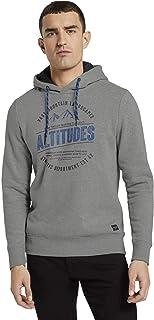 TOM TAILOR Men's Aufdruck Sweatshirt