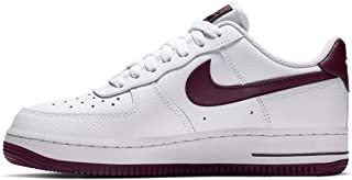 Nike WMNS Air Force 1 '07 Womens Sneakers AH0287-105, White/Bordeaux