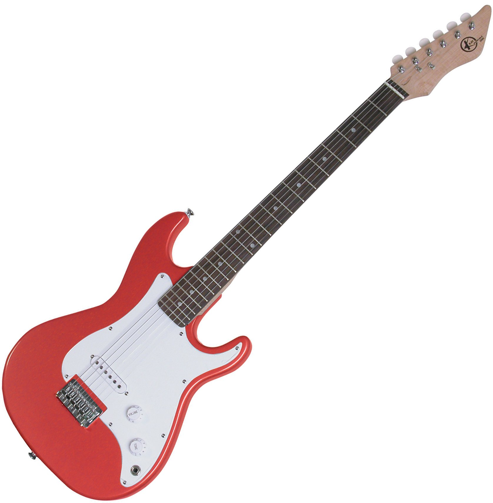 Cheap Kay KE17MR 7/8 Solid Body Full Scale Neck Electric Guitar Red Black Friday & Cyber Monday 2019