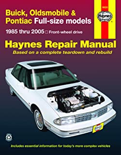 Buick, Olds, Pontiac Full-Size FWD Models, 1985 Thru 2005