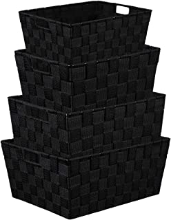 Best black shelves with baskets Reviews